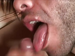 Guy Hungry for Cream