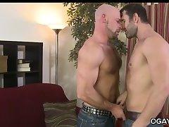 Muscular rough gay intercourse