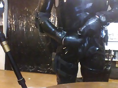 Me in some rubber