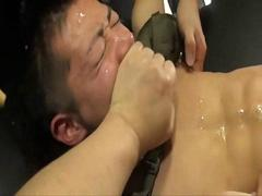 Lustful Japanese Guys Group Sex PART 2
