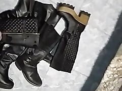 cum on boots