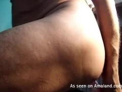 Hardcore Dildo Play With Horny Daddy at Home