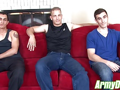 Will, Chase and Johnny fucking and sucking each other