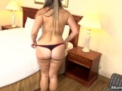 Big butt milf gets boned from behind at her first time audition