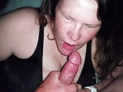 Nichole gets blasted in slow motion