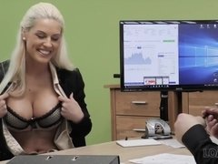 LOAN4K. Agent promisses a lot of money to hottie is...