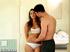 EroticaX Sweet pregnant nubile gets a romantic plow