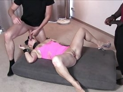 3some with german housewife mom mmf - Real private date