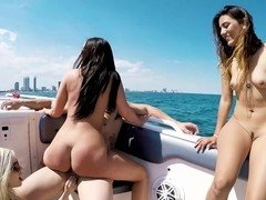 Rich man bought a boat and called three models for a sex cruise