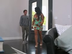 Raven Hart teaches her son's friend to fuck