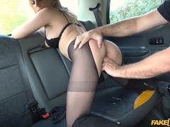 Fake Taxi (FakeHub): Polish blonde escort fucked