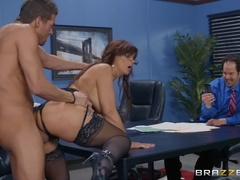Big Tits at Work (Brazzers): Red Hot Boss From Hell