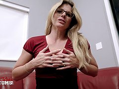 Mesmerized by my step mommy - Cory Chase - jerk off instruction