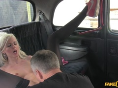 Fake Taxi (FakeHub): Smoking Hot Blonde Can't Help But Ask For Seconds Of Cabbie's Cock