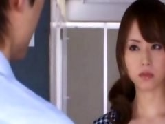 Akiho Yoshizawa innocent Chinese girl gets pussy licked