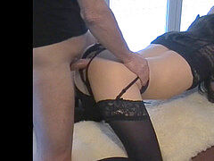 Petgirl Crossdresser smashed by old tormentor