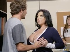 "Lovable Busty Mom At Brazzers ""Our College Librarian"""