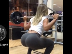 Brazilian Model Fitness Girls - bubble butt Latinas in gym