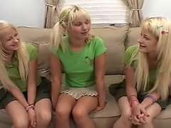 Milton Twins & Ashley Fires - Lesbian Strap On Screw
