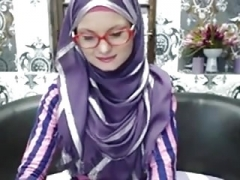 Hijab big beautiful women webcam