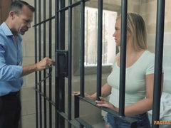 Bailey Brooke - Jail Vagina Gets Pounded
