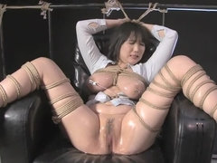 Incredible Japanese chick in Best Fetish, Threesome JAV clip