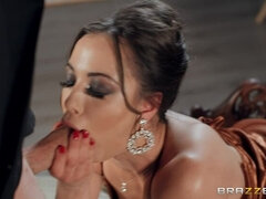 Natural boobs porn video featuring Danny D and Anastasia Brokelyn
