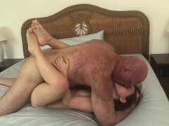 Lily Glee - Muscle Daddy Fucks Young Babe Tight Bitch