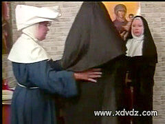 Nun Asks dude Sisters To spank Her naked Ass Punishing Her For Hot Dreams