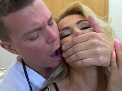 Cherry Kiss seduced by horny doctor