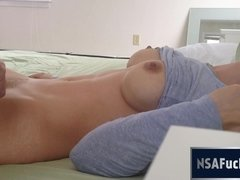 My Sultry College Girlfriend has a Screaming Hitachi Orgasm