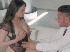 Flawless lingerie makes fucking Casey Calvert even hotter