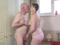 Slutty Teen Plumper And Silver Daddy