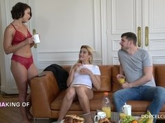 One Night In Paris Dorcel Club BTS - adriana chechik