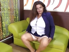 LatinChili Lusty Matures Rotund Solo Masturbation