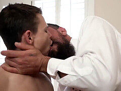 Shy boy first time homosexual sex virgin big ass and white men porn video