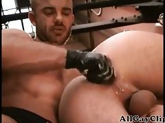 Great Gay Fist Session