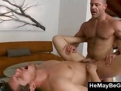 Male-female fella assfucked for da first time