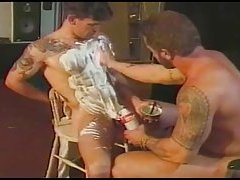 Hot Bears Shaving
