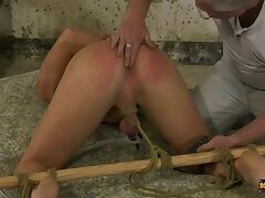 Milked With Elctro Stimulation! - Casper Ellis & Sebastian Kane