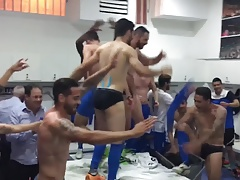 Apollon Limassol FC - briefs in locker rooms