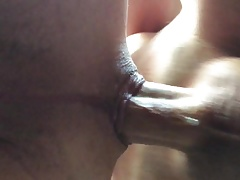 huge cock fucks sloppy hole