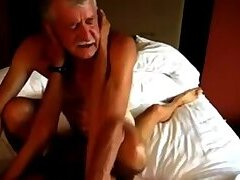 Two grandpas hot fucking