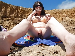 Slutty Sue at the beach