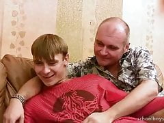 Vintage video where daddy & young russians suck & fuck