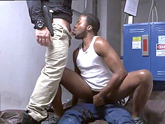 Group of hot cops make fags suck dick Police Threesome Hd Gay Tube