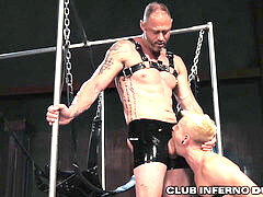 ClubInfernoDungeon first-timer extraordinary Fetish parent Gets Fisted