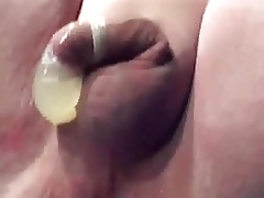 Fat chub fist milking