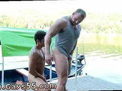 Two horny gay hunks are into hard fucking