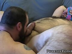 Masked cub rimmed and slammed raw by Topher Phoenix